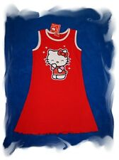 sweet HELLO KITTY summer dress red Size 128 and size 140 NEW