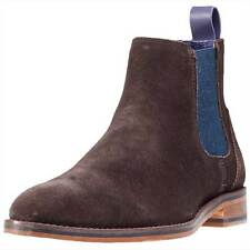 Ted Baker Camroon 4 Mens Chelsea Boots Dark Brown New Shoes