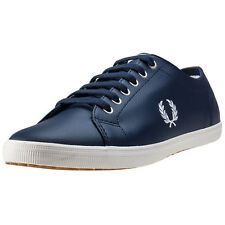 Fred Perry Kingston Womens Trainers Carbon Blue New Shoes