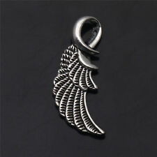 10/20/50/100Pcs Wings Tibetan Silver Pendants Charms Findings