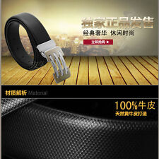 P-830 Fangle 2017 men's Genuine Leather Waist Stylish Fashion Belt Free P&P