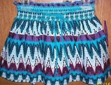 EPIC THREADS GIRLS Large TIERED MULTI-PRINT SKIRT~NWT