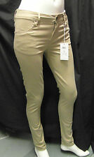 BNWT DESIGNER 'SELECTED FEMME' ANNIE TWILL JEAN LEGGINGS / TROUSERS UK 8 - 12
