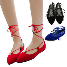HANA Large size Girls Womens Casual Dancing dolly Trendy Summer Ballerinas Shoes