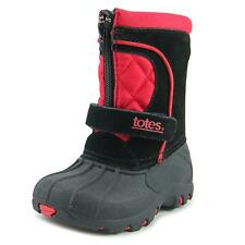 Totes Tyler II Toddler  Round Toe Leather Black Winter Boot NWOB