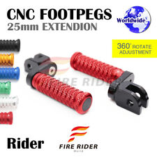 FRW CNC 6C 25mm Front Footpegs For Yamaha TZR 250 87-90 87 88 89 90