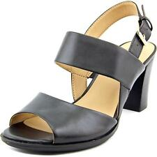 Naturalizer Lahnny Women  Open Toe Synthetic Black Sandals NWOB