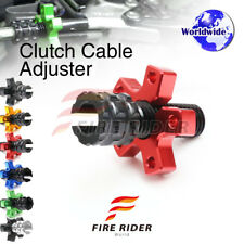 FRW 6Color CNC Clutch Cable Adjuster For Kawasaki Ninja 600R ZX600 93-97 94 95