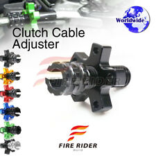FRW 6Color CNC Clutch Cable Adjuster For Kawasaki Zephyr ZR 550 90-93 91 92 93
