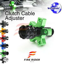 FRW 6Color CNC Clutch Cable Adjuster For Kawasaki Ninja 300R ABS EX300 13-16 14