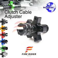 FRW 6Color CNC Clutch Cable Adjuster For Kawasaki KLX 250 S / F 09-10 09 10