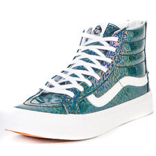 Vans Sk8 Hi Slim Zip Womens Trainers Multicolour New Shoes