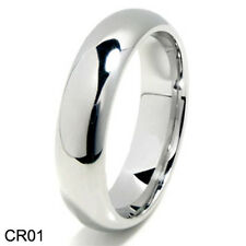 Size 4-17 Classic Cobalt Chrome Wedding Band Promise Ring