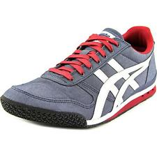 Onitsuka Tiger by Asics Ultimate 81 Men  Round Toe Canvas Blue Sneakers NWOB
