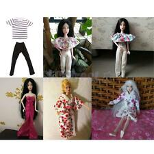 Exquisite Workmanship Fashion Doll Clothes for Barbie/Ken Doll Kids Gift Toy