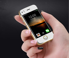Unlocked Dual Sim Mini6 Small Android Smart Mobile TouchScreen Soyes Phone Gold