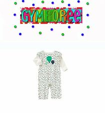 """Gymboree baby girls Balloon Dots """"We Have Arrived"""" One Piece New 0 3 6 12 18 24"""