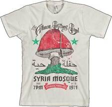 The Allman Brothers Band Syria Mosque 1971 Adult Mens Music T Tee Shirt AM170