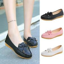 Women Comfort Flats Shoes Slip On Loafers Moccasins Ballet Single Boat Shoes