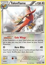 ~Pokemon Rare Talonflame Card 96/114 Card XY Steam Siege Must have!