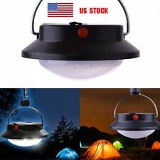US LED Portable Torch Outdoor Hiking Tent Camping Lights Lamp Lantern 300 Lumens