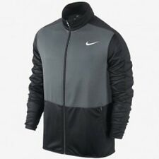 NIKE Men's Rivalry Full Zip Basketball Jacket ** COOL GREY/ANTHRACITE - S ** NWT