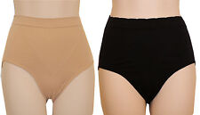Delta Burke Seamless Shaping Control Brief Panties Set of 2