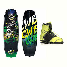 CWB Dowdy Wakeboard With LTD Faction Bindings 2017