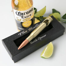"""Personalised Favours Happy Father's Day Gift - """"The Bullet"""" Large Bottle Opener"""