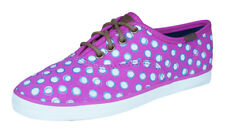 Keds Champion CVO Girls Lace Up Sneakers / Casual Shoes - Fuchsia Dots