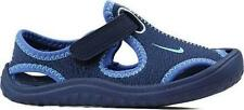 Boy's Toddler NIKE SUNRAY Blue Hook/Loop Athletic Casual Sandals Water Shoes NEW