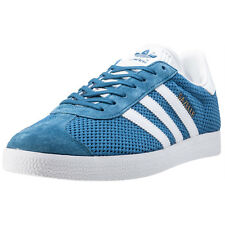 adidas Gazelle Mens Trainers Blue White New Shoes