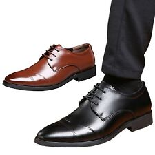 Business Work Brogues Oxford Pointed toe Lace up Dress Formal Shoes sz UK 5
