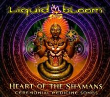LIQUID BLOOM - HEART OF THE SHAMANS: CEREMONIAL MEDICINE SONGS [DIGIPAK] USED -