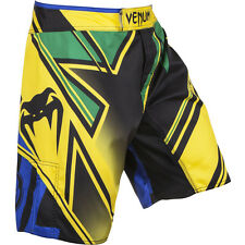 Venum Wand's Conflict MMA Fight Shorts - Yellow/Blue/Green