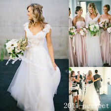 Bohemian Wedding Dress Design with Long Skirts Boho Beach Country Bridal Gown