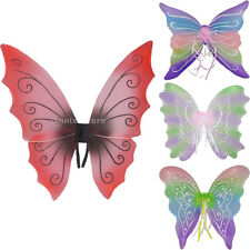 Ladies Girls Princess Butterfly Fairy Wings Dressing Up Costume Props Party Toy