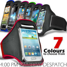 SPORTS ARMBAND STRAP POUCH CASE COVER FOR VARIOUS HTC MOBILE PHONES