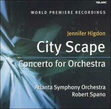JENNIFER HIGDON: CITY SCAPE; CONCERTO FOR ORCHESTRA USED - VERY GOOD CD