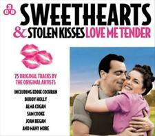 VARIOUS ARTISTS - SWEETHEARTS & STOLEN KISSES: LOVE ME TENDER USED - VERY GOOD C