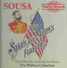 STARS AND STRIPES FOREVER: SOUSA'S GREAT MARCHES AND INCIDENTAL MUSIC NEW CD