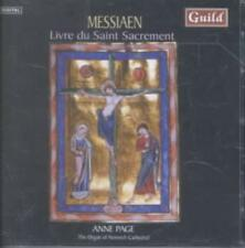 OLIVIER MESSIAEN: LIVRE DU SAINT SACREMENT NEW CD