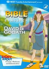 BIBLE ANIMATED CLASSICS - DAVID AND GOLIATH NEW DVD