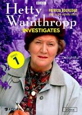 HETTY WAINTHROPP INVESTIGATES - COMPLETE FIRST SERIES NEW DVD