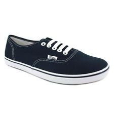 Vans Authentic Lo Pro Womens Blue Canvas Casual Trainers Lace-up New Style