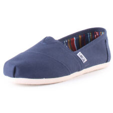 Toms Classic Womens Slip On Navy New Shoes