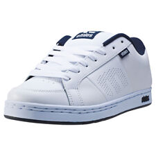 Etnies Kingpin Mens Trainers White Navy New Shoes