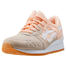 Asics Onitsuka Tiger Gel-lyte Iii Womens Trainers Khaki Orange New Shoes