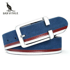 men belts fashion Accessories pu leather luxury straps male plate buckles