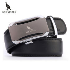 Mens fashion Belt New Designer Automatic Buckle Cowhide Leather men belt